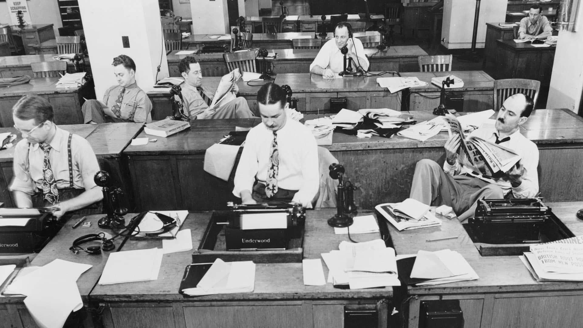 Redazione giornale - Piano editoriale
